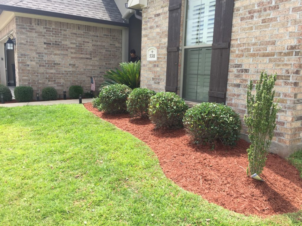 flower bed treatment in bossier la